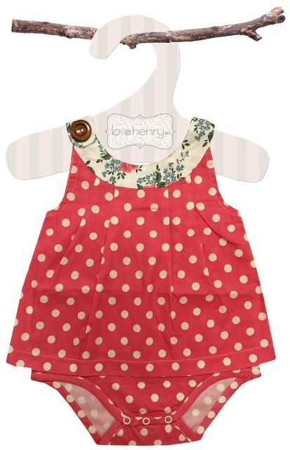 Love Henry Rose Sofia Playsuit | Gorgeous Baby Girls Clothes Online | Not Another Baby Shop