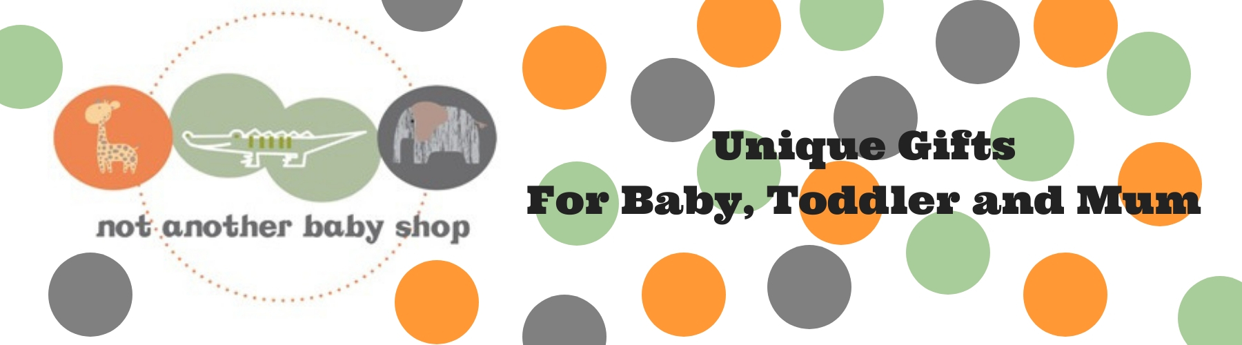 This page takes you to our baby gift sale page