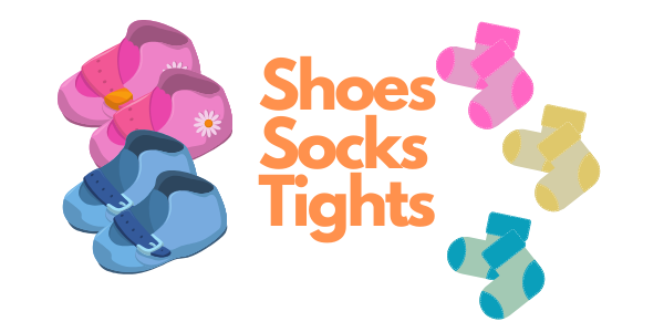 Baby Shoes, Toddler Shoes, Baby Socks, Baby tights