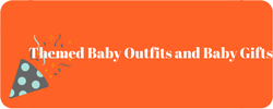 unique baby gifts, themed baby outfits and themed baby gifts at Not Another Baby Shop