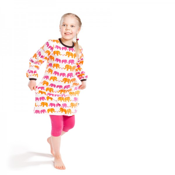 nosh organics -  funky baby clothes -elephant dress