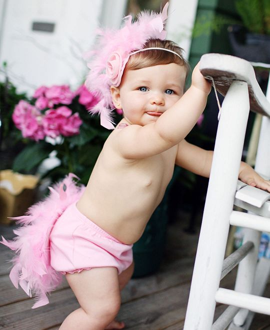 Ruffle butts feather outfit | Not Another Baby Shop